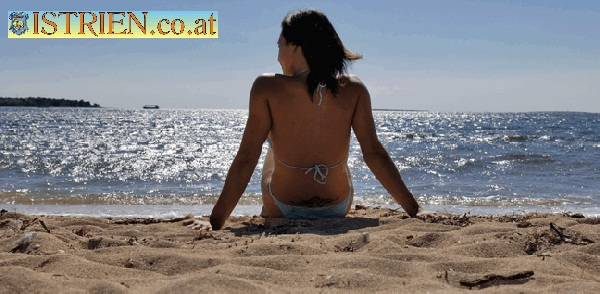Badeurlaub am Sandstrand